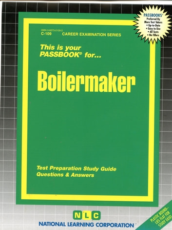 Boilermaker - Passbooks Study Guide ebook by National Learning Corporation