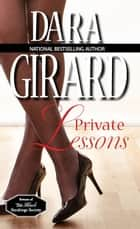 Private Lessons eBook by Dara Girard
