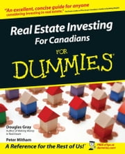 Real Estate Investing for Canadians for Dummies ? ebook by Gray, Douglas