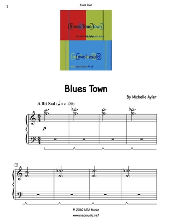 Blues Town ebook by Michelle Ayler