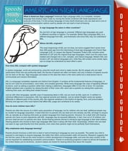 American Sign Language (Speedy Study Guide) ebook by Speedy Publishing