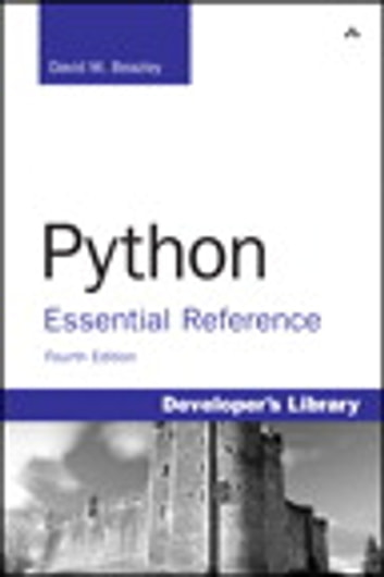 Python Essential Reference ebook by David M. Beazley
