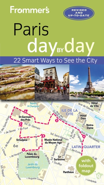 Frommer's Paris day by day ebook by Anna E. Brooke