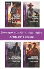 Harlequin Romantic Suspense April 2019 Box Set eBook by Jane Godman, Justine Davis, Karen Whiddon,...
