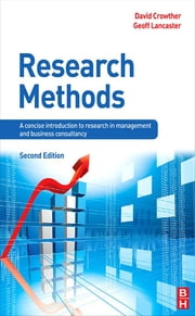Research Methods ebook by David Crowther,Geoff Lancaster