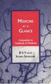 Medicine at a Glance ebook by R S Vasan,Sudha Seshadri