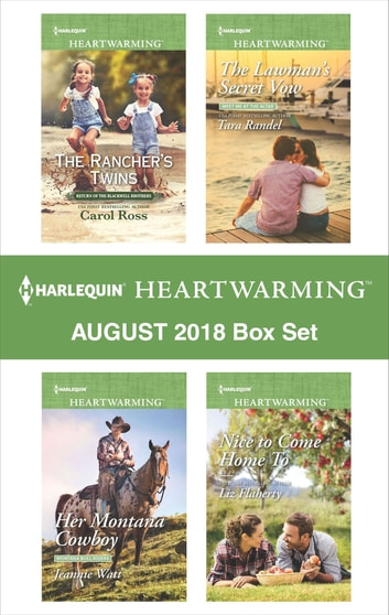 Harlequin Heartwarming August 2018 Box Set - A Clean Romance ebook by Carol Ross,Jeannie Watt,Tara Randel,Liz Flaherty