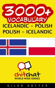 3000+ Vocabulary Icelandic - Polish ebook by Gilad Soffer