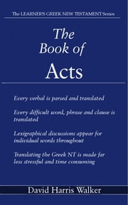 The Book of Acts ebook by David Harris Walker