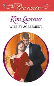 Wife by Agreement ebook by Kim Lawrence