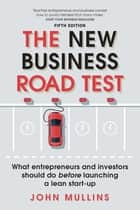 The New Business Road Test ePub eBook - The New Business Road Test 5e UK Import ebook by John Mullins