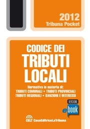 Codice dei tributi locali ebook by Kobo.Web.Store.Products.Fields.ContributorFieldViewModel