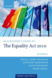 Blackstone's Guide to the Equality Act 2010 ebook by Kobo.Web.Store.Products.Fields.ContributorFieldViewModel