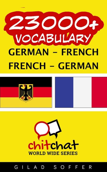 23000+ Vocabulary German - French ebook by Gilad Soffer