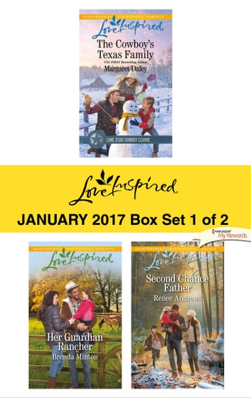 Harlequin Love Inspired January 2017-Box Set 1 of 2 - An Anthology ebook by Margaret Daley,Brenda Minton,Renee Andrews