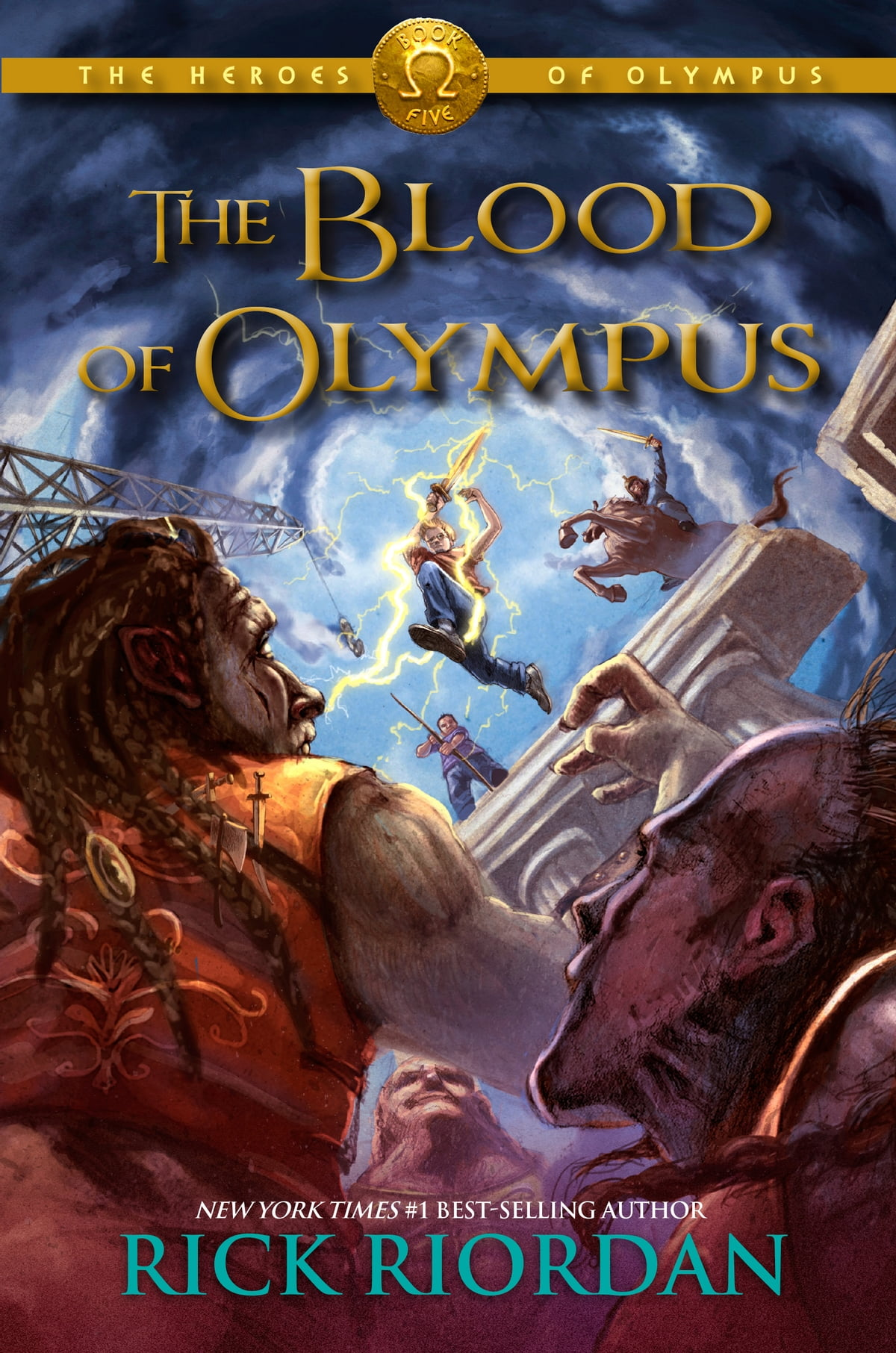 The Heroes Of Olympus,book Five: The Blood Of Olympus Ebook By Rick Riordan