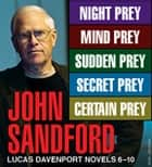 John Sandford Lucas Davenport Novels 6-10 ebook by John Sandford