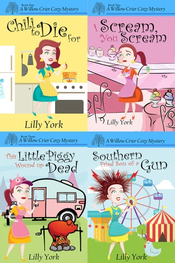 Willow Crier Cozy Mystery Set (Books 1 - 4) ebook by Lilly York