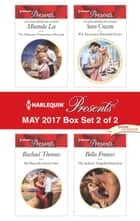 Harlequin Presents May 2017 - Box Set 2 of 2 - An Anthology 電子書籍 by Miranda Lee, Rachael Thomas, Sara Craven,...