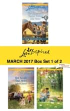 Harlequin Love Inspired March 2017 - Box Set 1 of 2 - The Rancher's Texas Twins\Her Single Dad Hero\The Deputy's Perfect Match ebook by Allie Pleiter, Arlene James, Lisa Carter