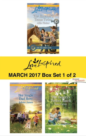 Harlequin Love Inspired March 2017 - Box Set 1 of 2 - An Anthology ebook by Allie Pleiter,Arlene James,Lisa Carter