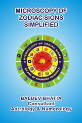 Microscopy of Zodiac Sign - An art of Knowing Yourself - Simplified ebook by Baldev Bhatia,Baldev Bhatia