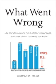 What Went Wrong - How the 1% Hijacked the American Middle Class . . . and What Other Countries Got Right ebook by George R. Tyler