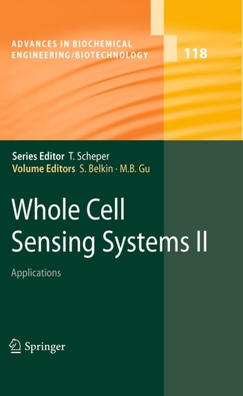 Whole Cell Sensing System II - Applications ebook by