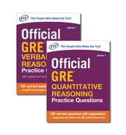 Official GRE Value Combo ebook by Educational Testing Service