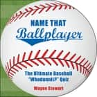 Name That Ballplayer ebook by Wayne Stewart