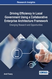Driving Efficiency in Local Government Using a Collaborative Enterprise Architecture Framework - Emerging Research and Opportunities ebook by Amit Tiwary