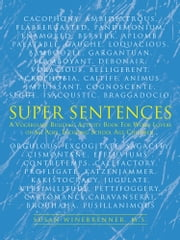 SUPER SENTENCES - A vocabulary building activity book for word lovers of all ages, incuding school age children. ebook by Susan Winebrenner, M.S.