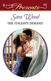 The Italian's Demand ebook by Sara Wood