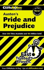 CliffsNotes on Austen's Pride and Prejudice ebook by Marie Kalil