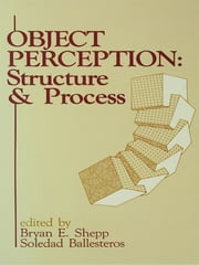 Object Perception - Structure and Process ebook by Bryan E. Shepp,Soledad Ballesteros