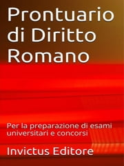 Prontuario di diritto romano ebook by aa.vv.