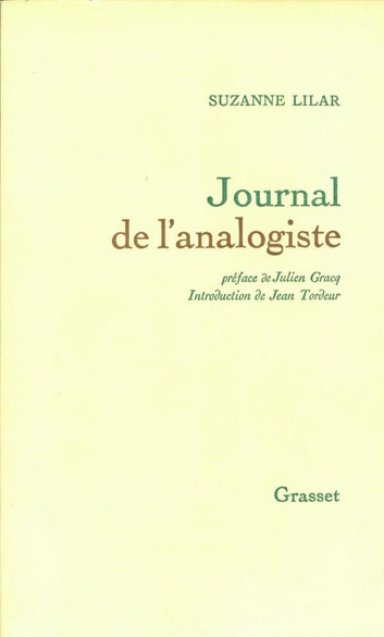 Journal de l'analogiste ebook by Suzanne Lilar