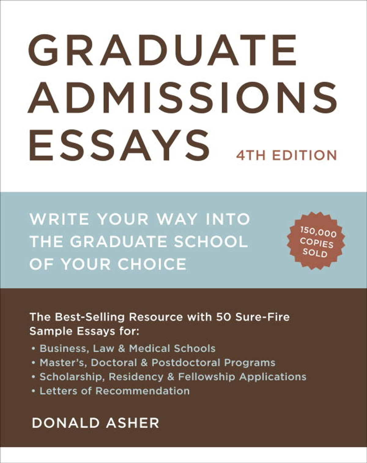 graduate admissions essays fourth edition ebook by donald asher graduate admissions essays fourth edition ebook by donald asher 9781607743224 kobo