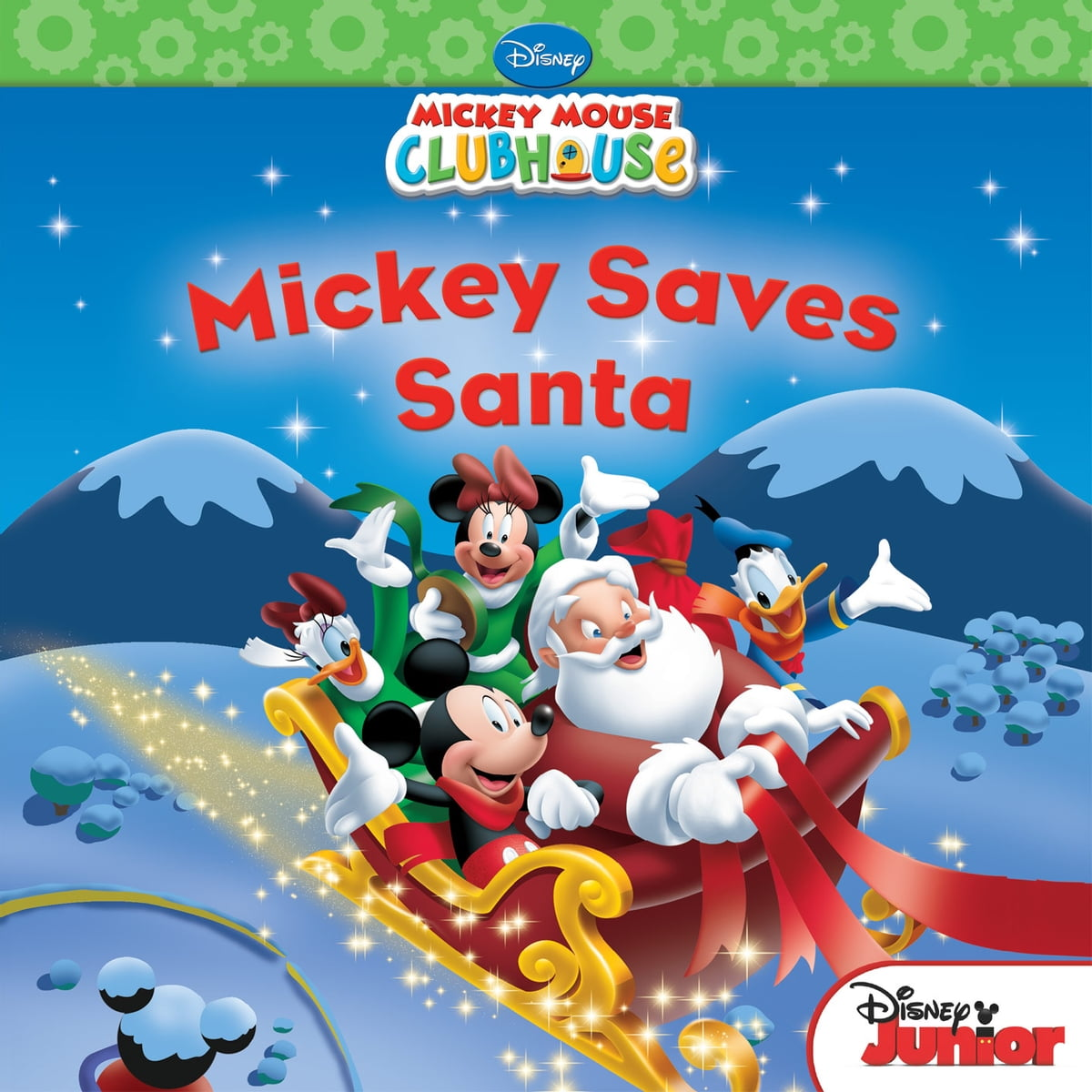 mickey mouse clubhouse mickey saves santa disney book group