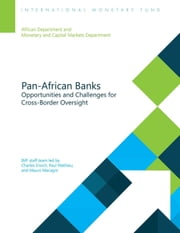 Pan-African Banks - Opportunities and Challenges for Cross-Border Oversight ebook by Charles Mr. Enoch,Paul Mr. Mathieu,Mauro Mr. Mecagni,Jorge Mr. Canales Kriljenko