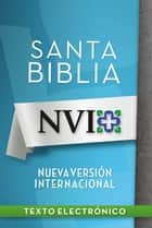 NVI Santa Biblia ebook by Zondervan