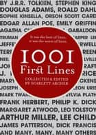 1001 First Lines ebook by Scarlett Archer