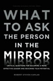 What to Ask the Person in the Mirror