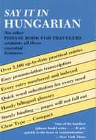 Say It in Hungarian ebook by Dover