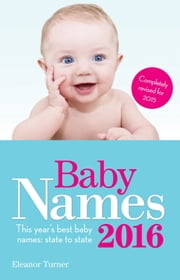 Baby Names 2016 ebook by Eleanor Turner