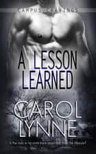 A Lesson Learned ebook by Carol Lynne