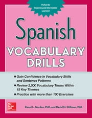 Spanish Vocabulary Drills ebook by Ronni Gordon