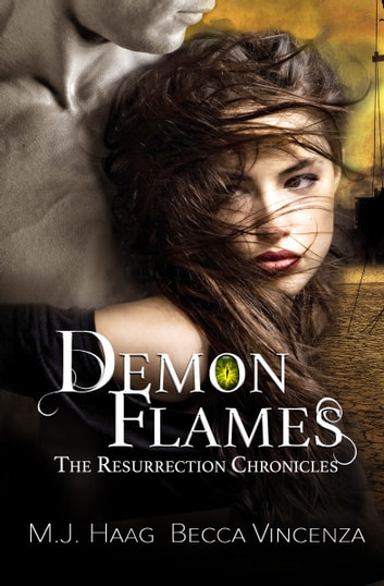Demon Flames ebook by M.J. Haag,Becca Vincenza