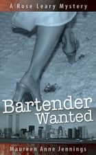 Bartender Wanted ebook by