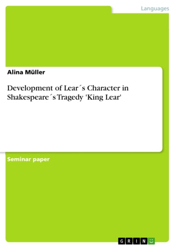 a comparison of tragedy in the characters of king lear and falstaff Characters analysis there sure are a lot of references to sick bodies and diseased body parts in king lear from lear's comparison of goneril to a.